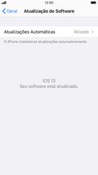 Apple iPhone 7 - iOS 13 - Funções básicas - Como atualizar o software do seu aparelho - Etapa 6