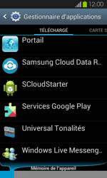 Samsung Galaxy S2 - Applications - Supprimer une application - Étape 9