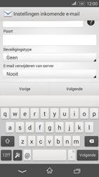 Sony Xperia E4g (E2003) - E-mail - Account instellen (IMAP zonder SMTP-verificatie) - Stap 10