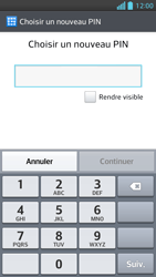 LG Optimus F5 - Sécuriser votre mobile - Activer le code de verrouillage - Étape 7
