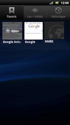 Sony Ericsson Xperia Neo - Internet - navigation sur Internet - Étape 10