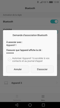 Huawei P9 Plus - Bluetooth - connexion Bluetooth - Étape 9