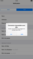 Apple iPhone 6 Plus iOS 8 - E-mail - Configuration manuelle - Étape 14