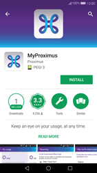 Huawei P10 - Applications - MyProximus - Step 5