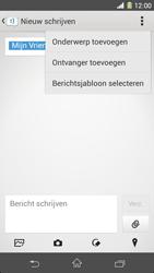 Sony C6903 Xperia Z1 - MMS - Afbeeldingen verzenden - Stap 11