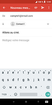 Alcatel 3L - E-mails - Envoyer un e-mail - Étape 8