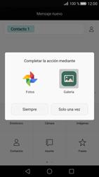 Huawei P8 - Mensajería - Escribir y enviar un mensaje multimedia - Paso 14