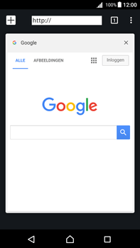 Sony Xperia Z5 Premium - Android Nougat - Internet - internetten - Stap 15