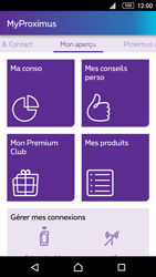 Sony E6653 Xperia Z5 - Applications - MyProximus - Étape 13