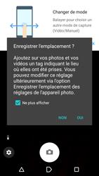 Sony Sony Xperia E5 - Photos, vidéos, musique - Créer une vidéo - Étape 4