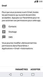 LG G5 SE - Android Nougat - E-mail - Configuration manuelle - Étape 18