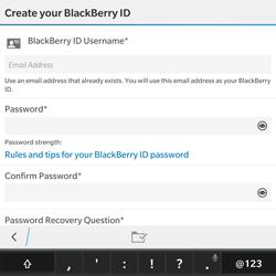 BlackBerry Passport - Applications - Downloading applications - Step 11