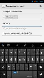 Wiko Rainbow - E-mail - Envoi d
