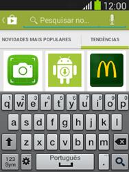 Samsung Galaxy Pocket Neo - Aplicações - Como pesquisar e instalar aplicações -  14
