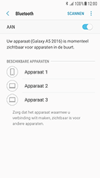 Samsung Galaxy A3 (2016) - Android Nougat - Bluetooth - koppelen met ander apparaat - Stap 9