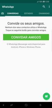Samsung Galaxy Note9 - Aplicações - Como configurar o WhatsApp -  15