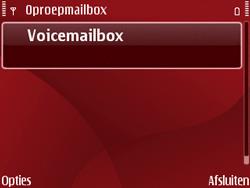 Nokia E63 - Voicemail - Handmatig instellen - Stap 5