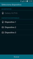 Samsung G850F Galaxy Alpha - Bluetooth - Transferir archivos a través de Bluetooth - Paso 10
