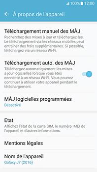 Samsung Galaxy J7 (2016) (J710) - Réseau - Installation de mises à jour - Étape 6