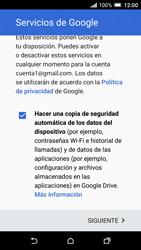 HTC One A9 - E-mail - Configurar Gmail - Paso 15