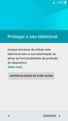 Samsung Galaxy A3 A310F 2016 - Primeiros passos - Como ligar o telemóvel pela primeira vez -  10