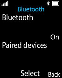Nokia 108 - WiFi and Bluetooth - Setup Bluetooth Pairing - Step 7