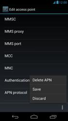 Acer Liquid E1 - Mms - Manual configuration - Step 16