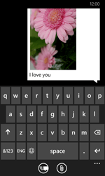Nokia Lumia 635 - MMS - Sending a picture message - Step 12