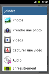 Samsung S6500D Galaxy Mini 2 - MMS - envoi d'images - Étape 11