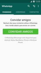 Samsung Galaxy S5 - Aplicações - Como configurar o WhatsApp -  11