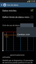 Samsung Galaxy S4 Mini - Internet - Ver uso de datos - Paso 6
