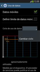 Samsung Galaxy S4 Mini - Internet - Ver uso de datos - Paso 6