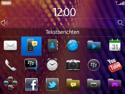 BlackBerry 9360 Curve - SMS - Handmatig instellen - Stap 3