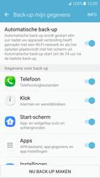 Samsung Galaxy S7 - Beveiliging en ouderlijk toezicht - Samsung account synchroniseren - Stap 8