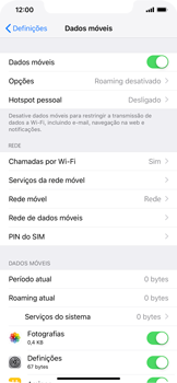 Apple iPhone XR - Internet no telemóvel - Como ativar 4G -  4