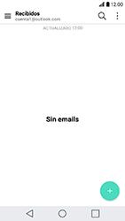 LG K10 (2017) - E-mail - Configurar Outlook.com - Paso 4
