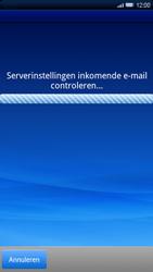 Sony Ericsson Xperia X10 - E-mail - handmatig instellen - Stap 8