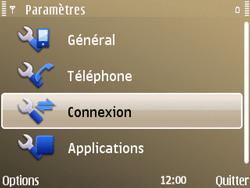 Nokia E72 - Internet - configuration manuelle - Étape 6