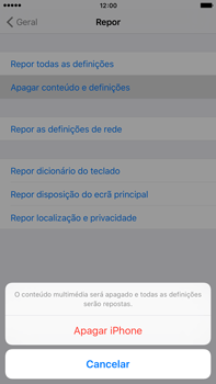 Apple iPhone 6s Plus - Repor definições - Como repor definições de fábrica do telemóvel -  7