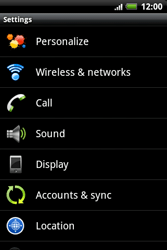 HTC A510e Wildfire S - Internet - Enable or disable - Step 4