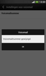 HTC Desire 500 - Voicemail - handmatig instellen - Stap 8