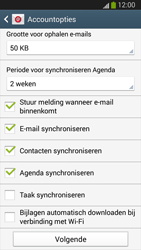 Samsung I9300 Galaxy S III - E-mail - handmatig instellen (outlook) - Stap 9