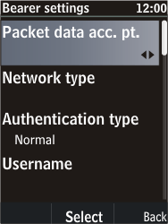 Nokia C2-05 - Internet - Manual configuration - Step 13
