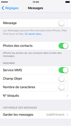 Apple iPhone 6 iOS 10 - iOS features - Envoyer un iMessage - Étape 4