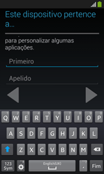 Samsung Galaxy Trend Plus - Primeiros passos - Como ligar o telemóvel pela primeira vez -  12