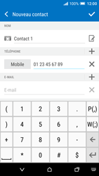 HTC One A9 - Contact, Appels, SMS/MMS - Ajouter un contact - Étape 8