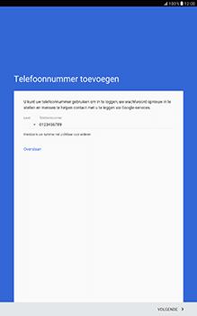 Samsung Galaxy Tab A 10.1 (SM-T585) - Applicaties - Account aanmaken - Stap 14