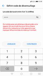 Honor 6A - Sécuriser votre mobile - Activer le code de verrouillage - Étape 8