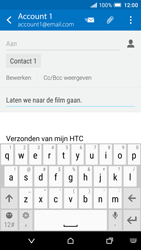 HTC One A9 - E-mail - Bericht met attachment versturen - Stap 9