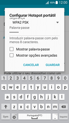 Samsung Galaxy A5 - Internet no telemóvel - Partilhar os dados móveis -  9